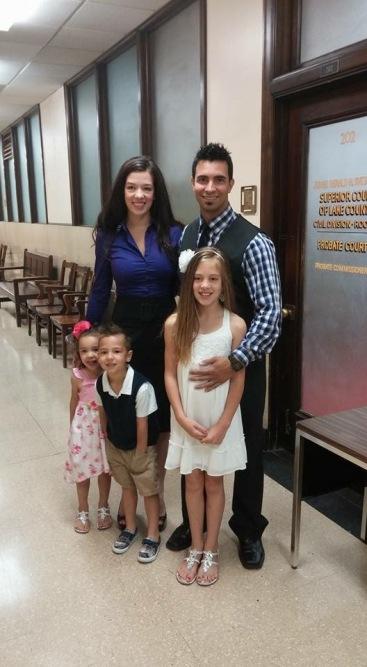 21 whole family at judge