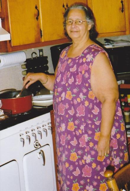barbara at stove USE