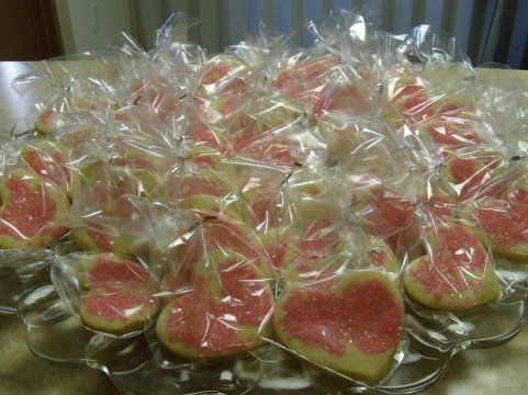 picture of plate of sugar cookies USE