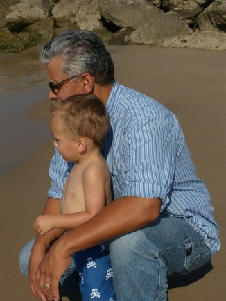 ethan and papa little 1