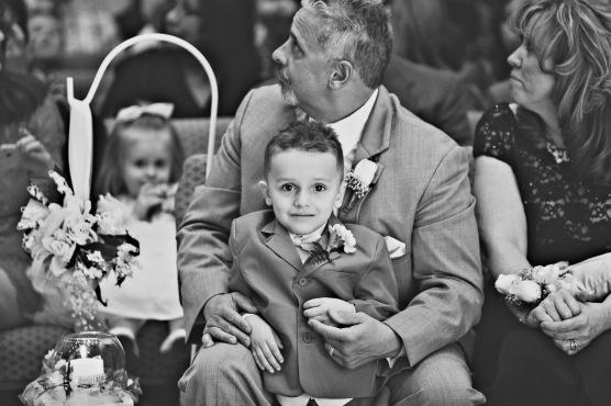 Ethan on wedding day
