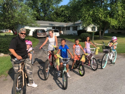 bike ride all kids on bikes