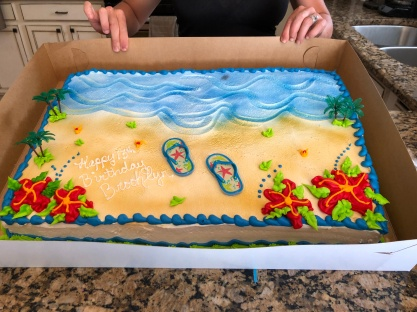birthday brooks cake