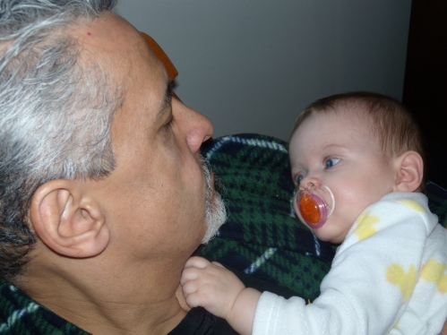 Papa and cova first time 1