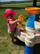 swimming aubrey and water table