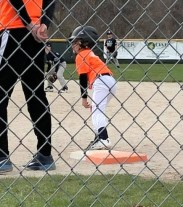 Ethan baseball first base