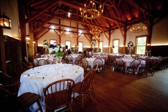 England wedding table