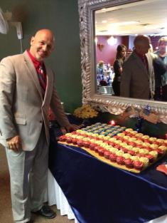 Pastor Flag Cake