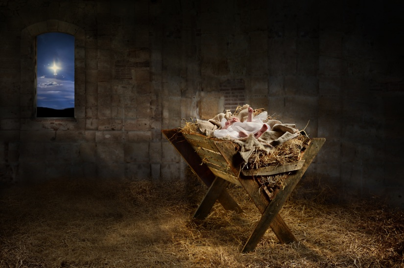 A CHRISTMAS CHILD IS BORN  By Lori AAlicea