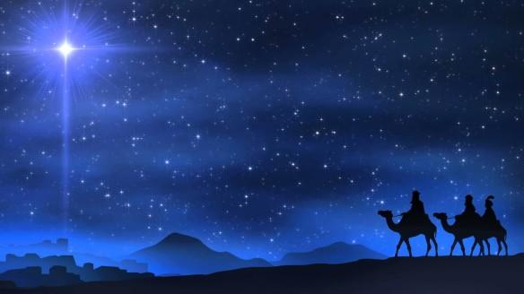 wisemen following star