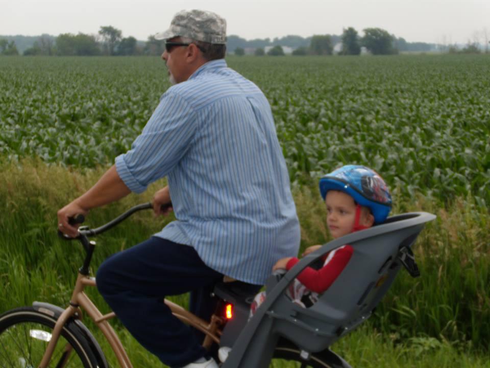 2013 david and ethan on bike ride