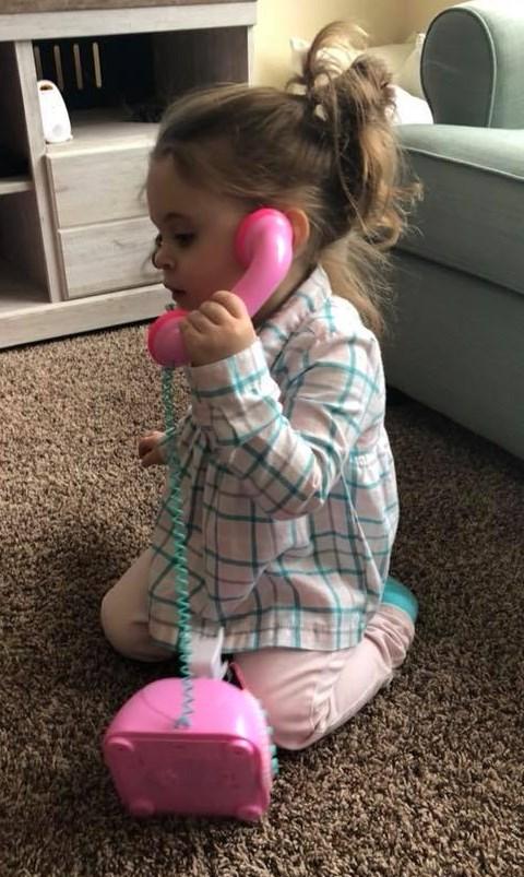 2018 ayva on phone