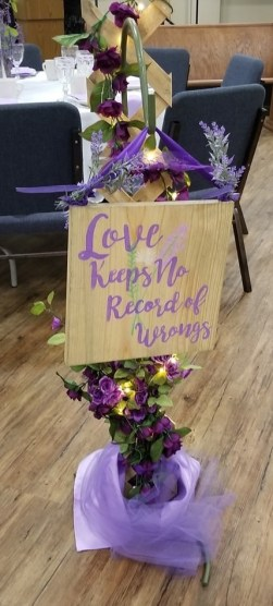 sign 4 love keeps no record of wrongs