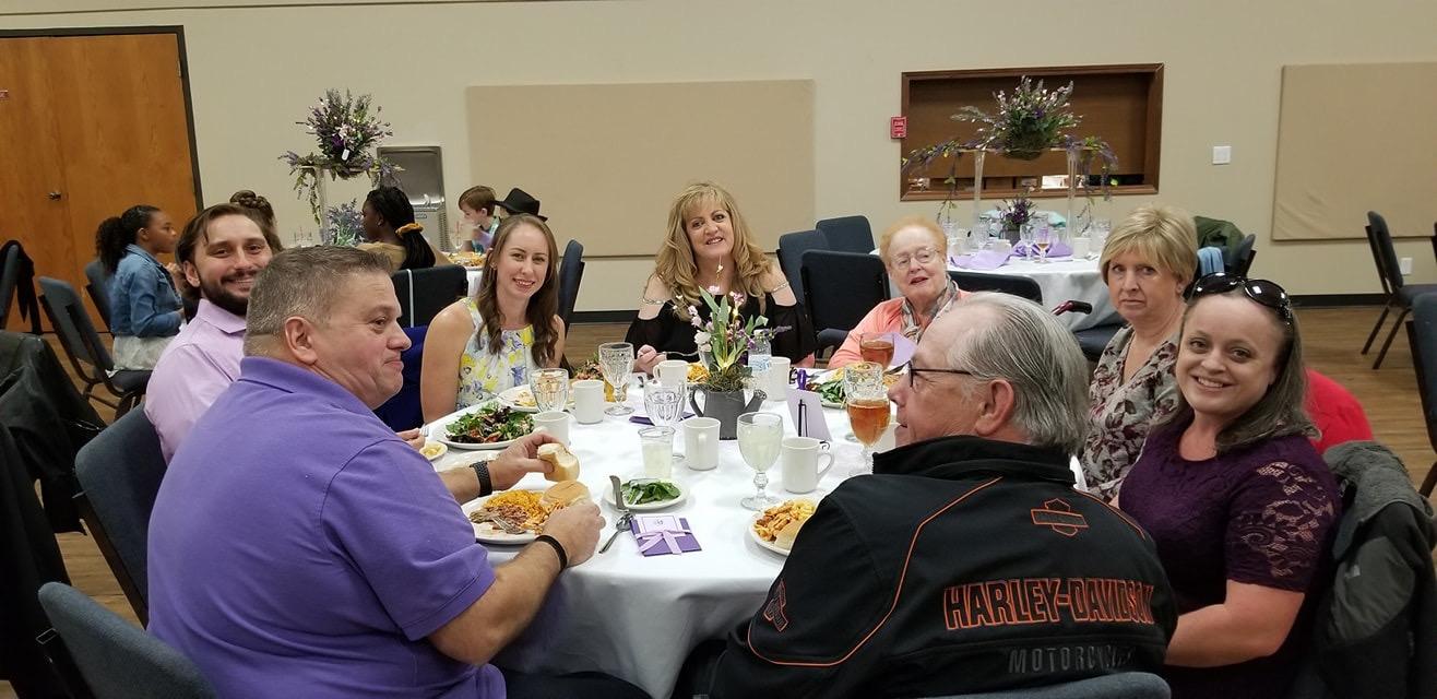 TABLE Grandkids Anniversary