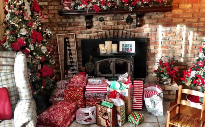 A TEN YEAR BELATED SURPRISE AT CHRISTMASBy Lori AAlicea