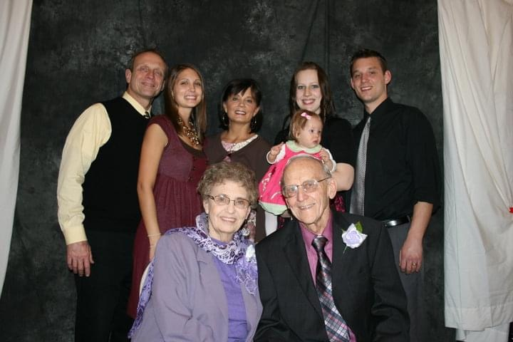 bill and gloria family