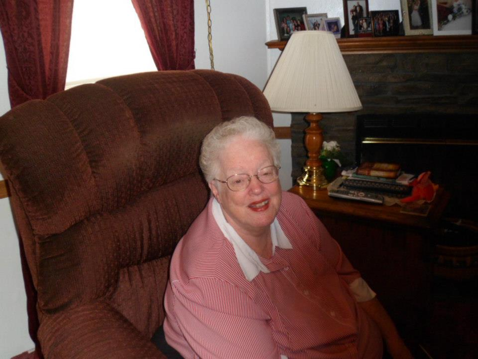 grandma in chair
