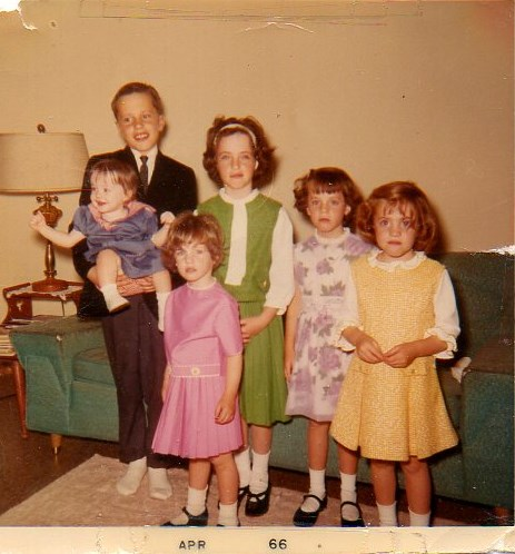 Easter with siblings and outfits