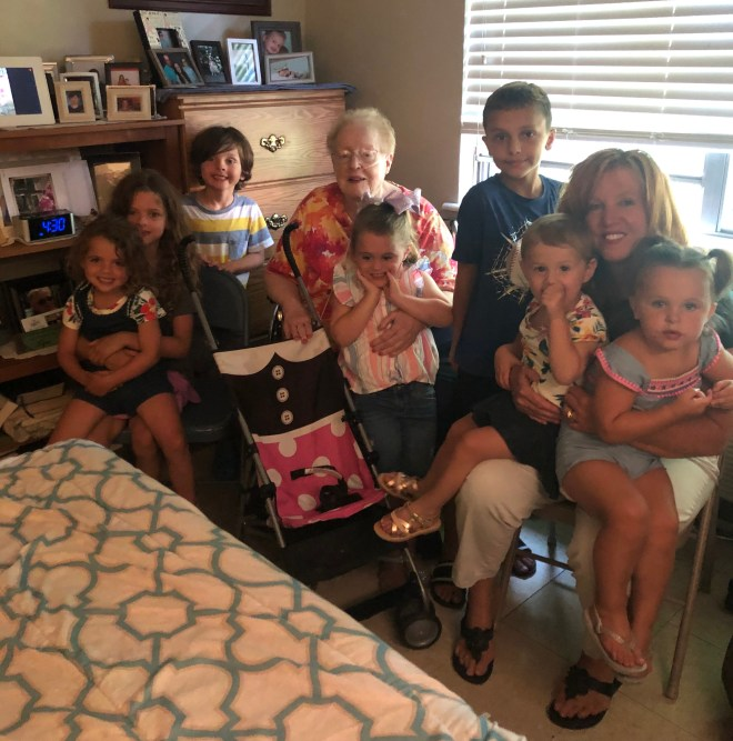 mom and grandkids USE
