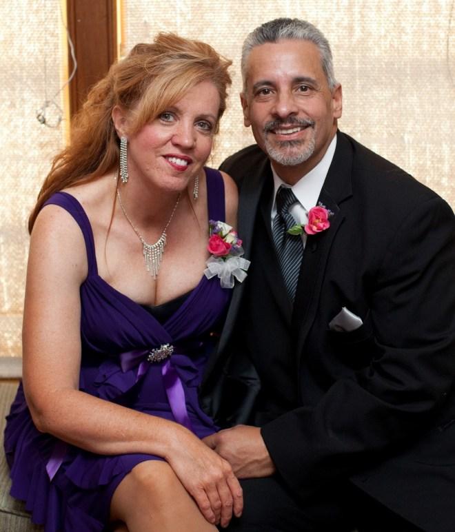 wedding family david and lori