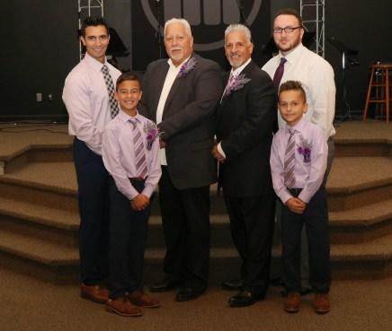DAVID AND LORI Anniversary Men USE 25th anniversary - church david with all guys