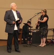 DAVID AND LORI Anniversary USE 25th anniversary - preach joe in worship